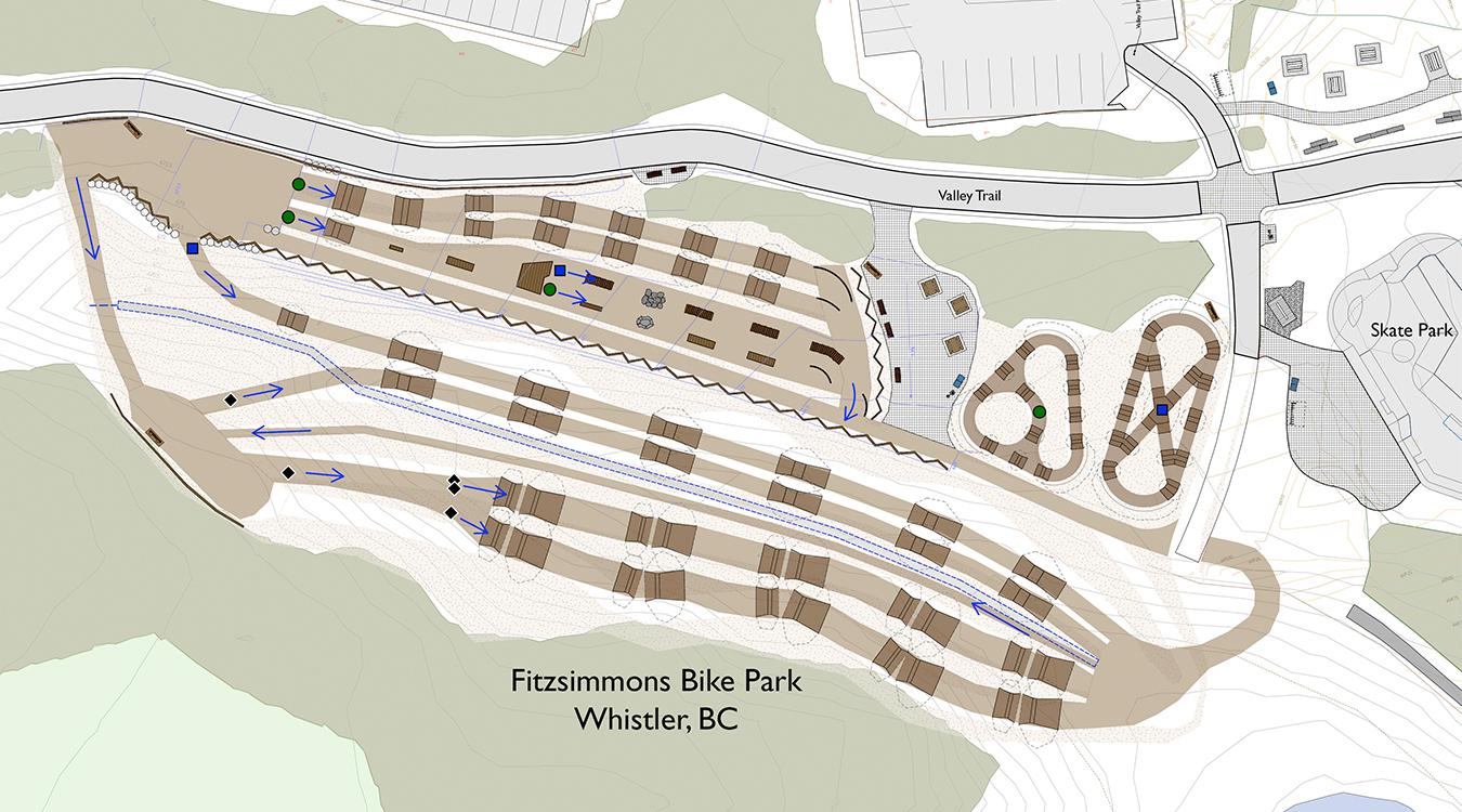 Bike Park Plan 1 1350X750