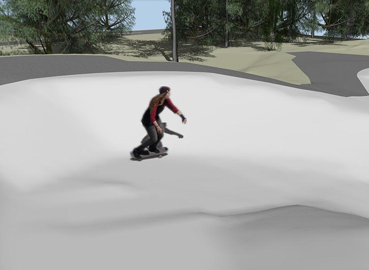 Skatepark Girl 750X550